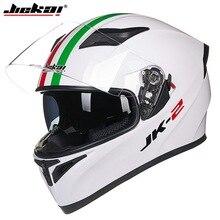 2016 Зима JIEKAI Двойные линзы мотоциклетный шлем JK-316 Мотокросс полный лицо мотоцикл шлемы, изготовленные из ABS Размер Ml XL XXL