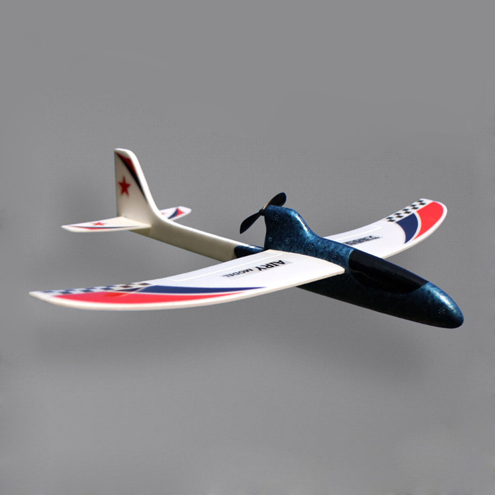 Toys for Children Streamline Gift Capacitor Hand Throwing Electric Educational Model DIY Glider Foam RC Airplane Child Birthday image