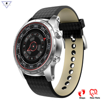 Fashion Men Smart Watch phone KW99 Heart rate Monitor Browser Weather live Call 3G smart watches GPS SIM WIFI smartwatch clock