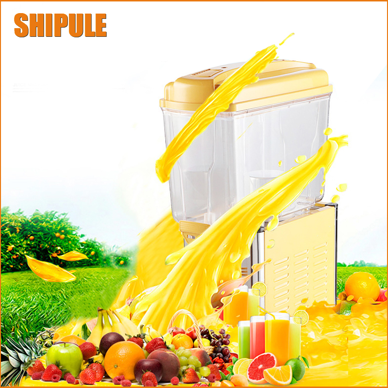 SHIPULE Commercial Machine 15L 1Tank Ice Slush Machine Snow melting machine Cold Drink Dispenser Smoothies Granita Machine free shipping cold drink dispenser slush machine sparying juicer ice beverage dispenser for sale