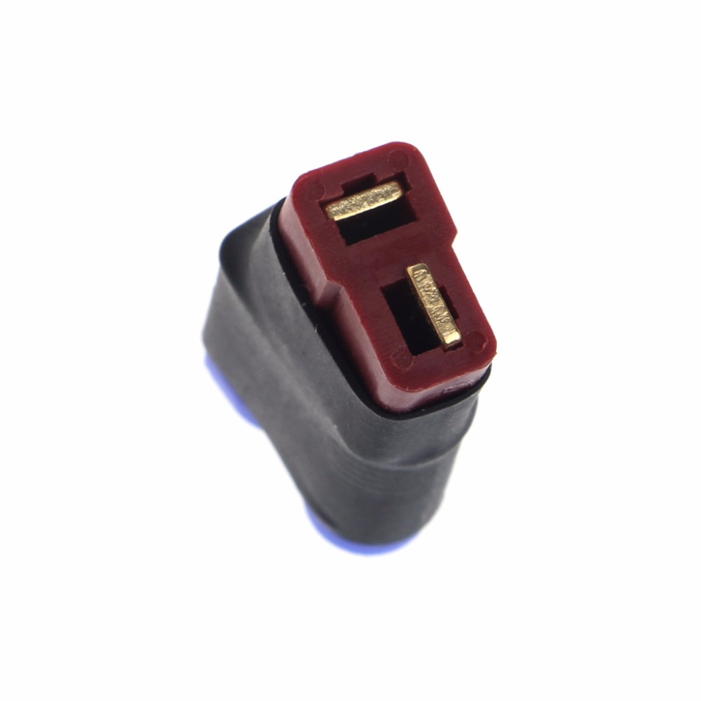 F02105-5 5 pcs Deans Style T Plug Male Connector Silicone Wire With 11.5CM 14awg