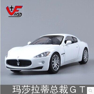 Venta caliente Maserati Quattroporte GT Coupe motor max 1:24 modelo de coche de Juguete regalo de Cumpleaños Colección Limitada de Rápido y Furioso
