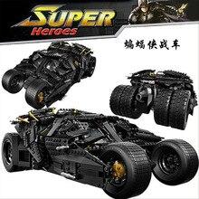 Decool 7111 Oversized Bat Car Batman The Combat Vehicle Bricks Minifigures Giant Building Block Toys Compatible Legoe
