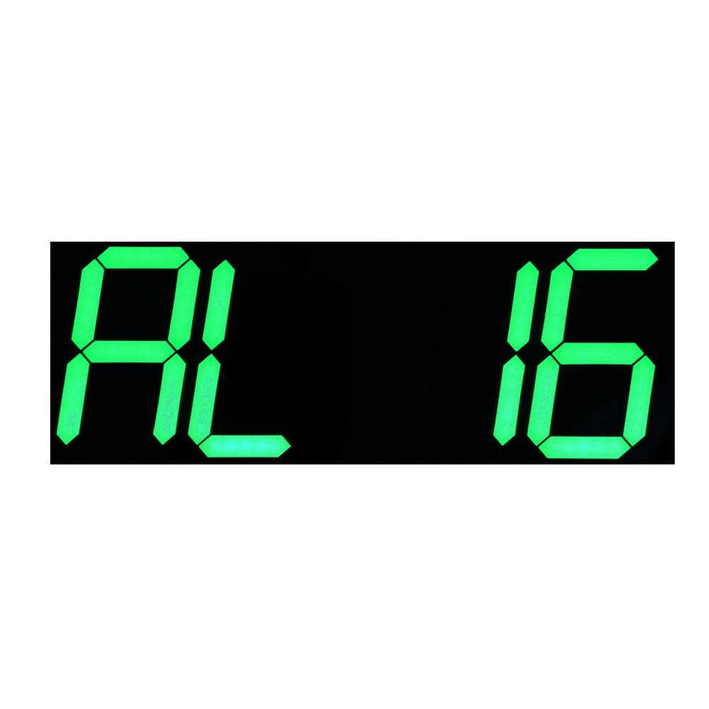 Yaşıl LED Təqvim Temperaturu Ekranı Uzaqdan İdarəetmə Sayı - Ev dekoru - Fotoqrafiya 6