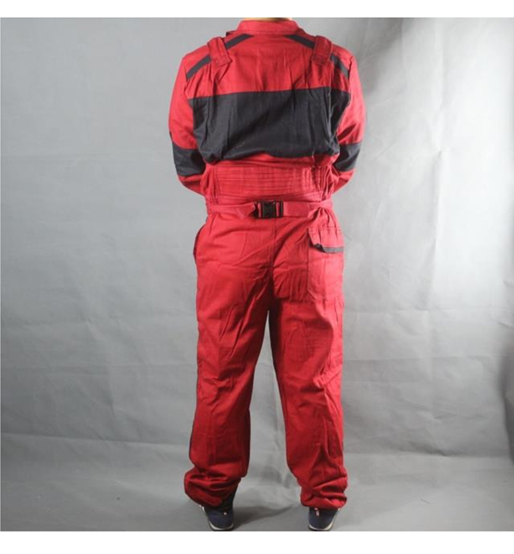 Work Coveralls Welding Fireproof Work Clothing Long Sleeve Overalls For Worker Repairman Machine Auto Repair Factory Uniforms (6)