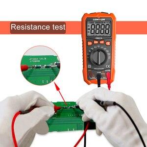 Image 4 - LOMVUM NCV Digital Multimeter 6000 counts Auto Ranging AC/DC voltage Meter Flash Back light Large Screen Ohm Tester Polimetro