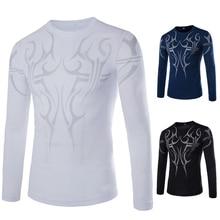 SOHEER HoT Sale Men's Designer Quick Drying long-sleeved T-Shirts Tee Shirt Slim Fit Tops Sportswear Casual Shirt Dry Fit Men