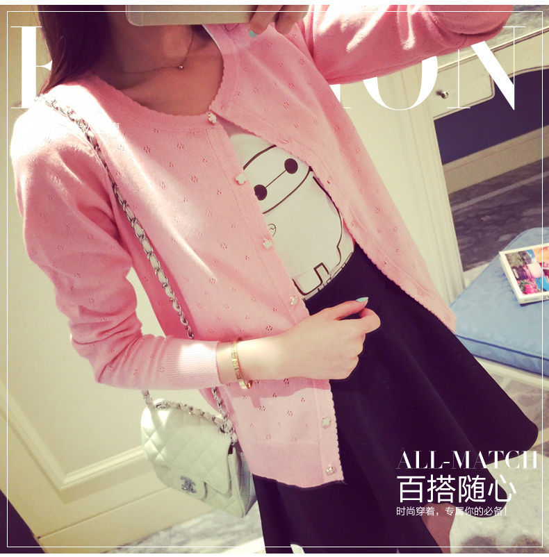 Free shipping New Fashion 2018 Autumn Winter Women Cardigans Sweaters Knitted Christmas Sweater Six colors