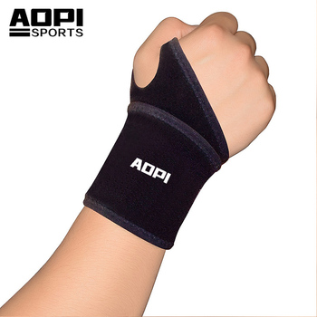 AOPI 1 Pcs Black Pressurizable Wristbands Wrist Band Bands Sweatbands Sweat Band for Ourdoor Basketball Volleyball Sports armband for iphone 6
