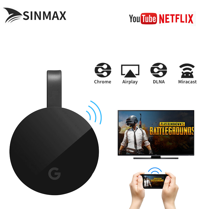 WiFi Display HD TV Screen Mirroring Dongle tv stick Fit Netflix youtube for Google Chrom ...