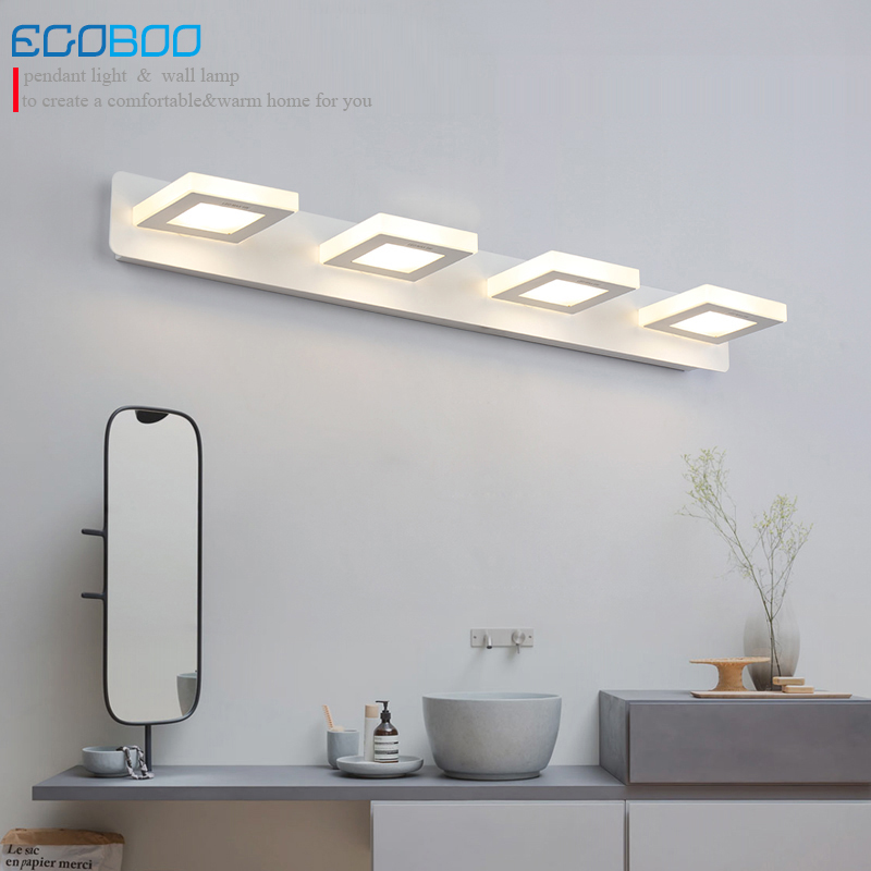 EGOBOO Indoor 12W Led Wall Lamps For Bathroom Wall Lighting Mirror Lights 65cm AC220V 110V Home