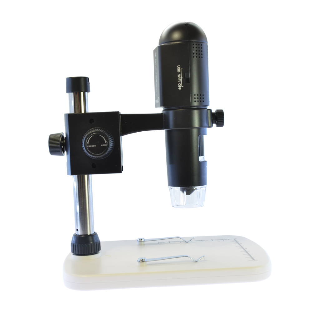 720P HD Wifi USB Digital Magnifier Industrial Microscope Camera 200x Handhold Endoscope With Light Table Stand  b010 p real digital microscope 300x 2mp skin check usb microscope magnifier camera digital hd manual focus microscope endoscope