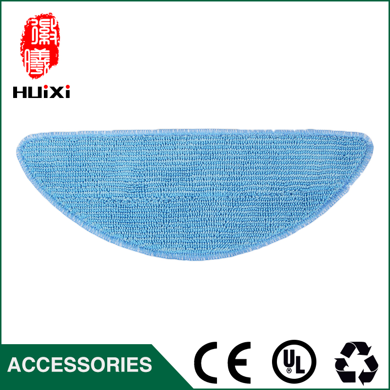Blue and White Mopping Cloth Durable Dishrag for DN621 DN621+ DN620 Home Robotic Vacuum Cleaner