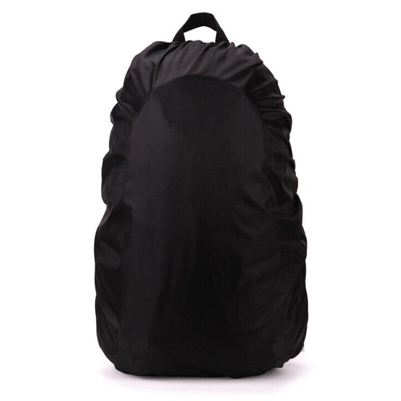 Nouveau imperméable voyage randonnée accessoire sac à dos Camping poussière pluie couverture 60L, noir