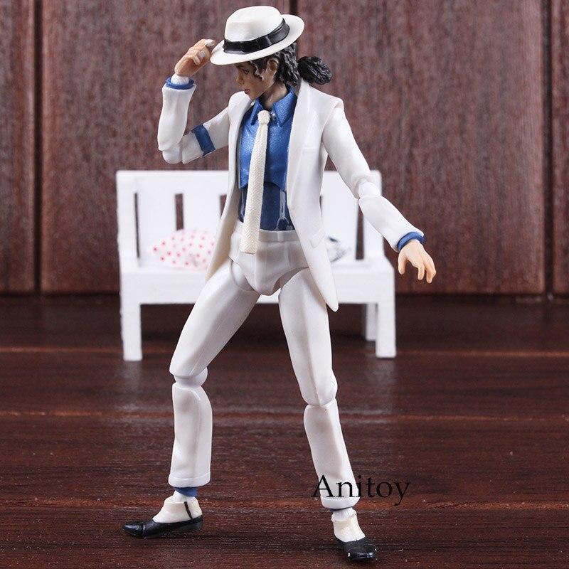 Figurine Doll Anti-Gravity Smooth Criminal Michael Singer Toy Lean