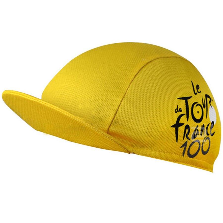 5 Colors Tour de France Cycling Cap Men and Women Polyester Quick Dry Bike Bicycle Hat Cycling Bananas Cap Scarf Headwear цена в Москве и Питере