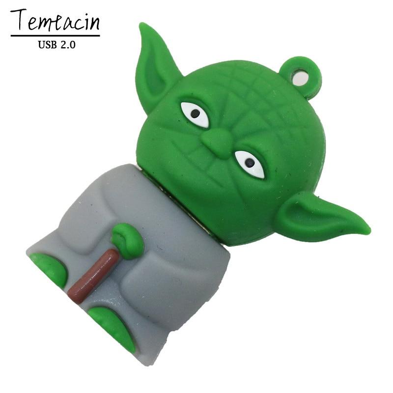 Star Wars USB Flash Drive BB8 PenDrive 16G Flash Stick 8G Memory - Արտաքին պահեստավորման սարքեր - Լուսանկար 4