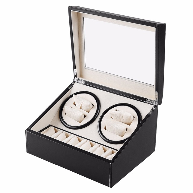 New 46 wooden watch winder with high gloss piano paintautomatic