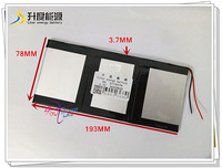 3 7V 9000mAH SD 3719378 Polymer Lithium Ion Li Ion Battery For Tablet Pc Power Bank