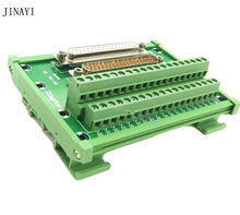 DB37 37 pin D SUB DR 37 macho hembra, Terminal de señales, PCB, módulo de salida, Conector de caja