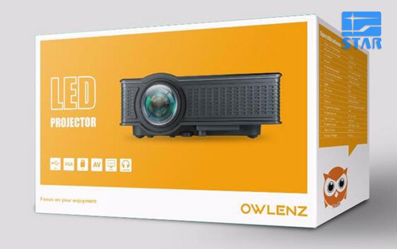 Prix pour New Home Cinéma Cinéma 1500 Lumens HD HDMI USB Vidéo numérique Portable Pico LCD LED Mini Projecteur Proyector Beamer SD50 plus