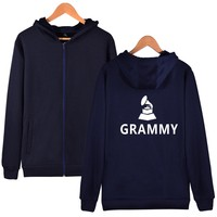 Artı Boyutu Grammy Ödülleri Yeni Tasarım Hoodies Erkek Giysileri Kap ve Sıcak Satış Oscars Harajuku Sweatshirt Erkekler Fermuar Hoodies XXS 4XL