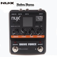 NUX Guitar Drive Force 10 Models Color Screen Modeling Stomp Simulator Electric Effect Effectors Pedals Musical