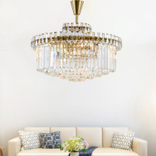 Modern post-modern luxury round living room bedroom dining villa hotel soft crystal chandelier