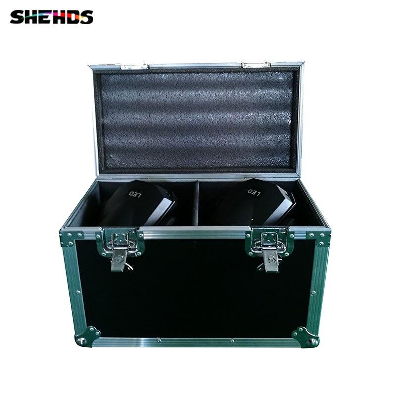 Flight Case con 2 pezzi HOT 90 W LED Spot Moving Head Light/USA Luminums 90 W LED DJ Luce del punto