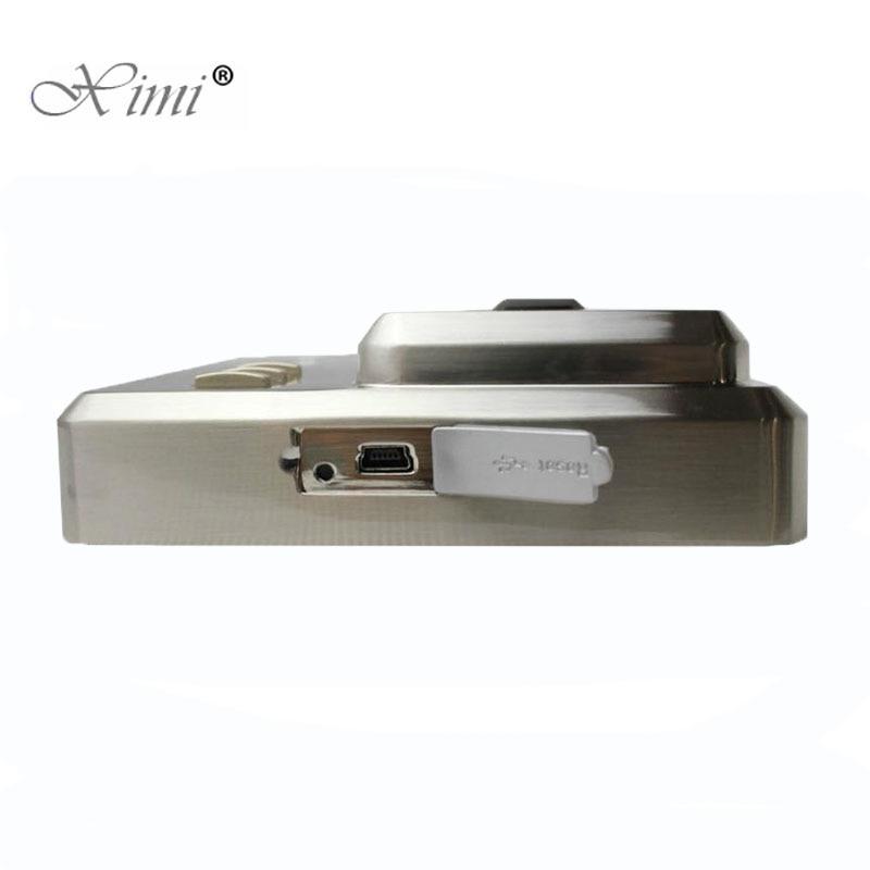 Металлический Чехол считыватель отпечатков пальцев с 13,56 МГц MF IC Card Reader ZK SF101 автономная система контроля допуска к двери