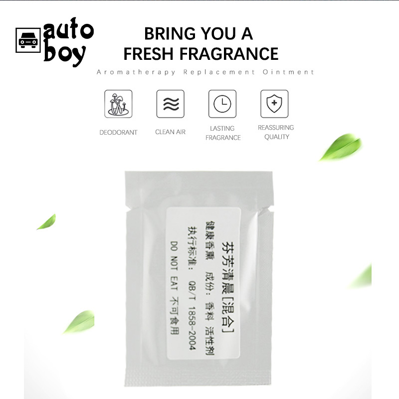 Image 5 - Car Air Freshener Gift Decoration Nature Perfume Smell Flavoring For Sun Visor Backseat Aromatherapy Auto Interior Accessories-in Air Freshener from Automobiles & Motorcycles
