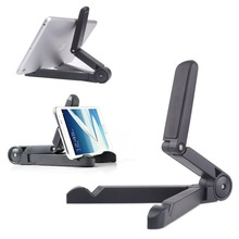 Vertical Adjustable Fold-up Stand Holder for ipad mini 2 3 4 Air Universal Flexible 180 Degree Multi-angle Portable cell phone