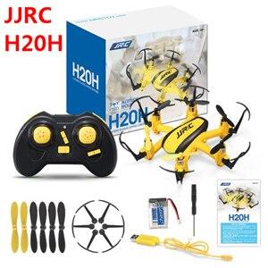 Jjr/c jjrc H20H 2.4g 4 Canal 6 eje Gyro RC hexacopter RTF mini drone con CF MODO/una tecla de retorno/Flip 3D/altitud