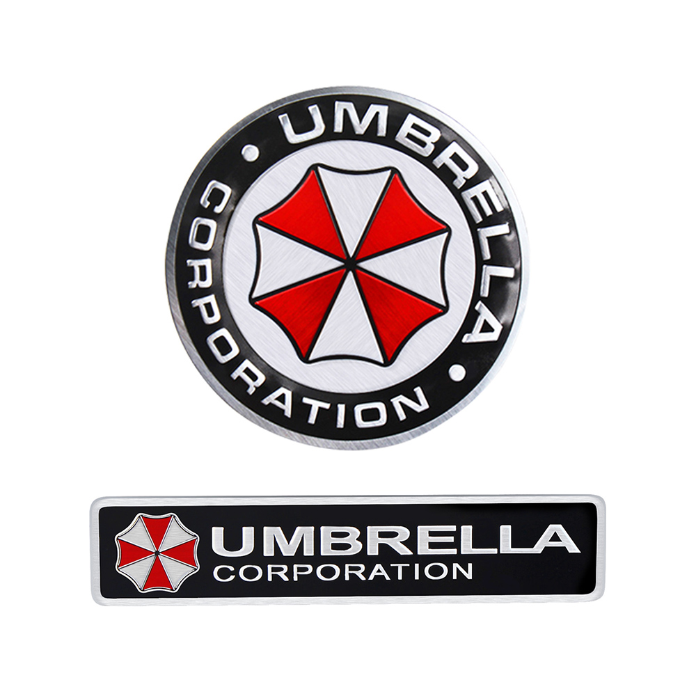 Us 099 3d Decals Metal Umbrella Corporation Car Sticker And Decals 4 Types Car Styling Car Decor For Mercedes Audi Vw Ford Bmw Car Deco In Car