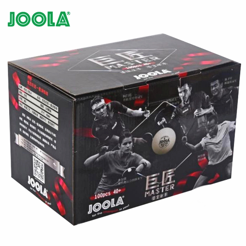100 Balls JOOLA Table Tennis Ball ABS 1 Star Training Master New Material Seamed Poly Plastic 40+ Ping Pong Balls