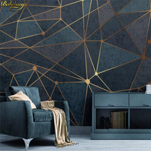 beibehang Custom Abstract geometric lines Mural Wallpaper Office Living Room bedroom TV Sofa Backdrop Wall Decor Wallpaper 3 D цена 2017