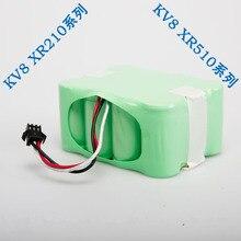 XR510 série 2200 mAh Ni MH aspirateur batterie pour KV8 ou Cleanna XR210 série et XR510 série robotique batterie