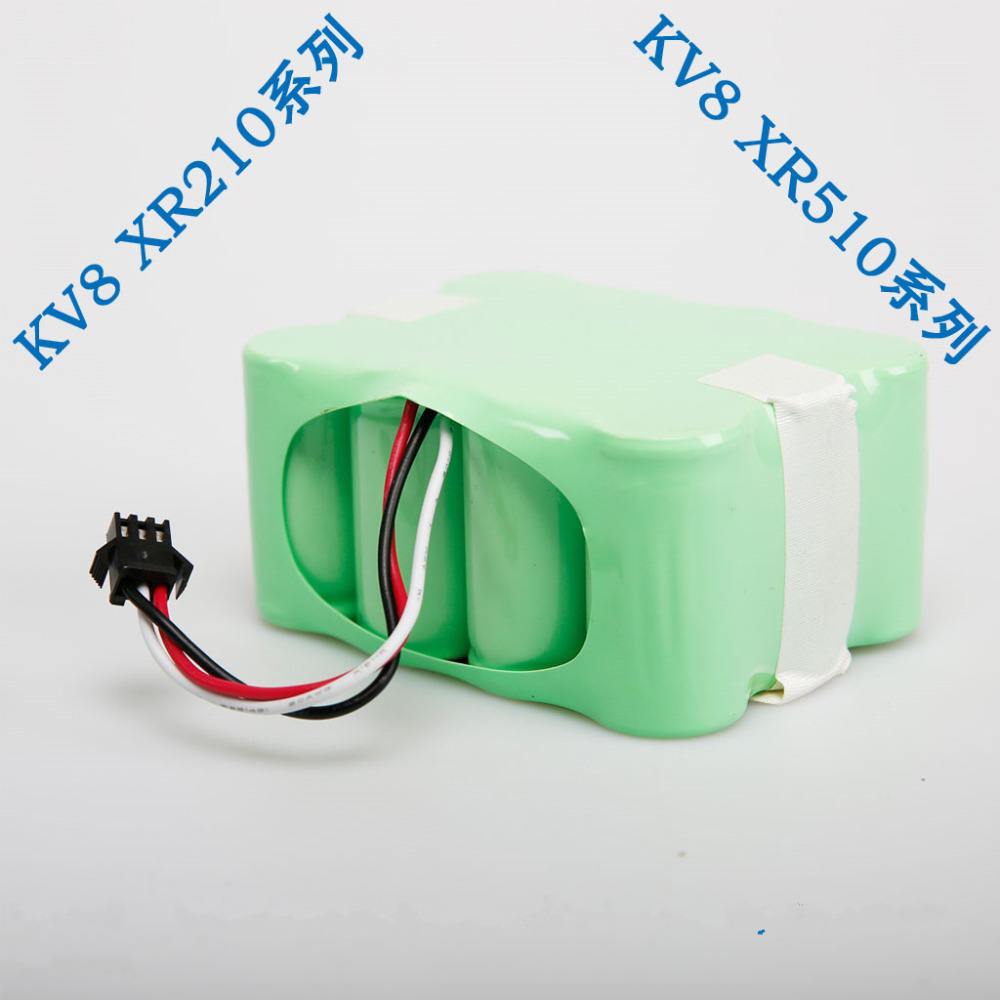 XR510 series 2200 mAh Ni-MH Vacuum Cleaner Battery for KV8 or Cleanna XR210 series and XR510 series Robotics Battery(China)