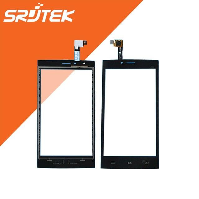 5.0 ''de Alta Qualidade da Tela de Toque Digitador Sensor de Vidro Do Painel Frontal Peças de reposição Para DEXP Ixion ES2 IXION W5 Ixion E5 preto
