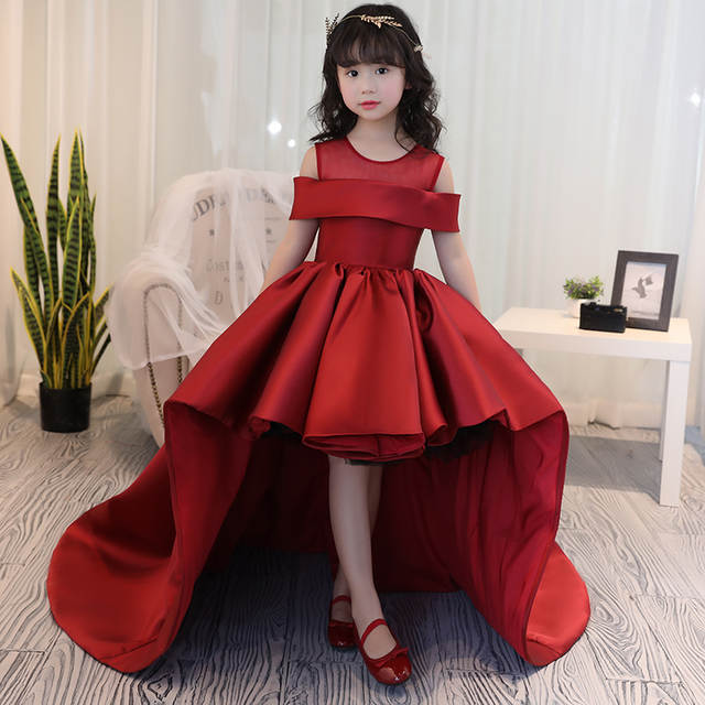 3b2ca1eb33a6 placeholder Girls Dress Kids Formal Wear Princess Dress Girls Clothes Baby  Wedding Party Dresses Size Age 4