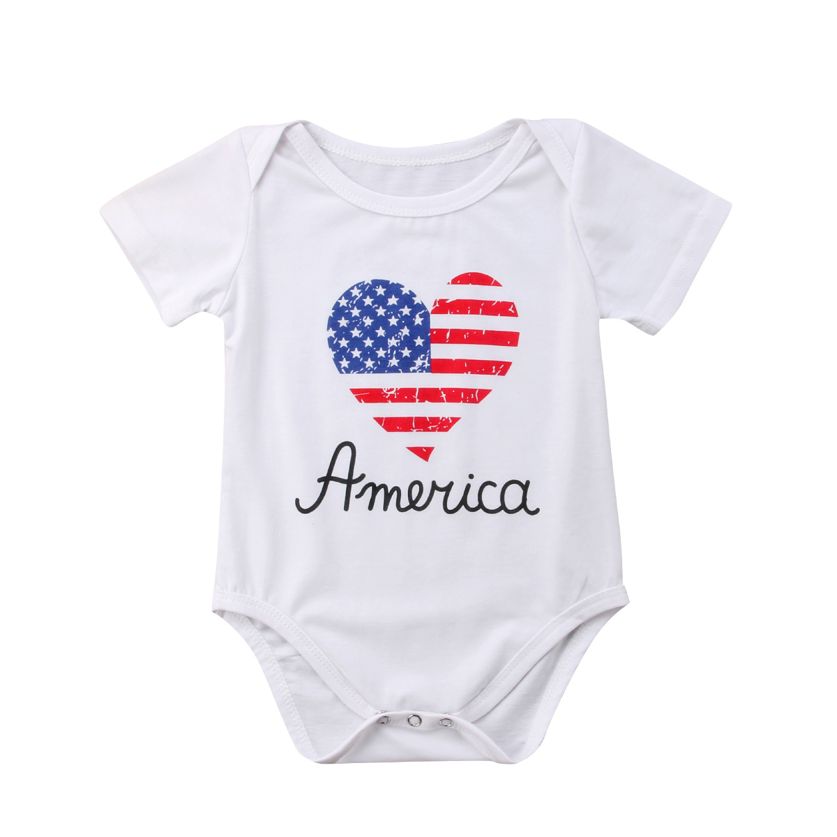 4267c0f9fb0 Newborn Infant Baby Boy Girl Kids Romper Jumpsuit Cotton Clothes Outfit-in  Rompers from Mother   Kids on Aliexpress.com