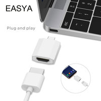 EASYA USB Type C Hub To HDMI Adapter Dongle Dock For Samsung Galaxy S8 DEX Mode
