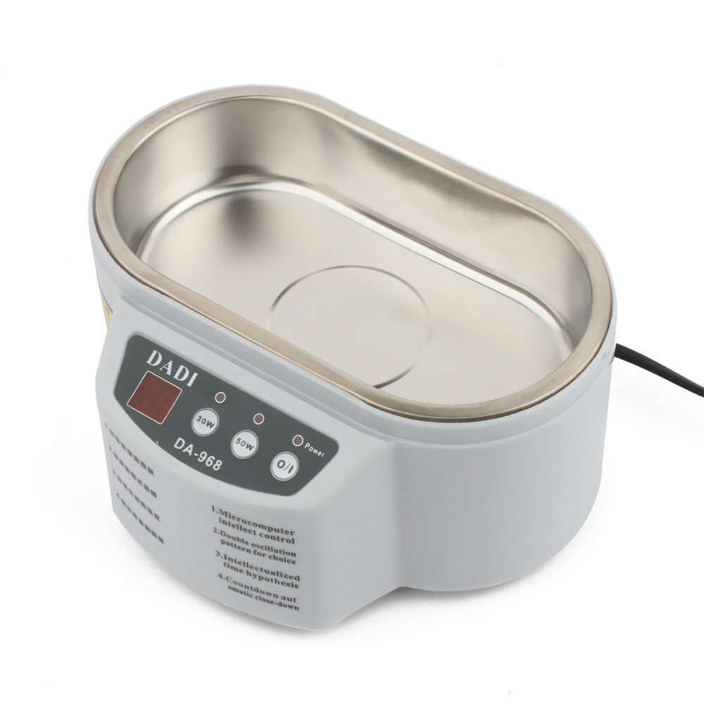 Mini Ultrasonic Cleaner Bath Machine For Cleaning Jewelry Ornament Head wear Brooch 4