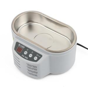 Image 5 - 30w/50w 220v/110v mini banho de limpeza ultrassônica para limpar jóias relógio óculos placa circuito limpiador ultrasonico