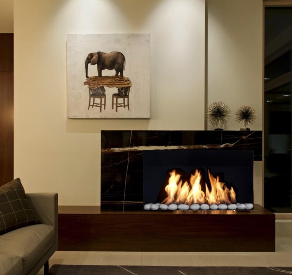 Inno Living Fire 36 Inch 90cm Insert Electric Fires  Bioethanol Burner
