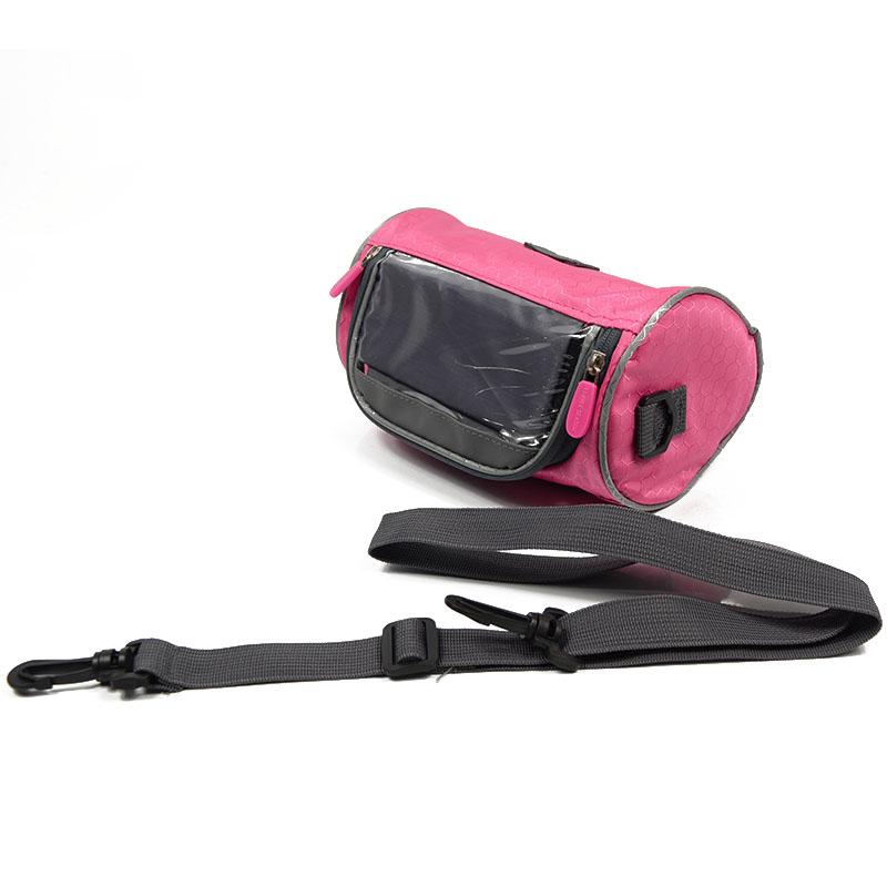 Wodoodporny Ekran Dotykowy Sakwy Rowerowe Rower Górski Rower Torby Phone Bag Case Rower Szosowy Rura Przednia Kierownica Torba Cylindra 27