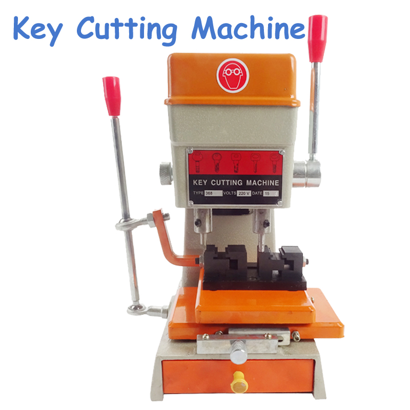 220V/110V Key Cutting Machine 368A Keys Copier Key Duplicating Machine with Full Set Cutter Tools Part