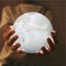Moon Light,Glowing Moon Globe Light, 3D