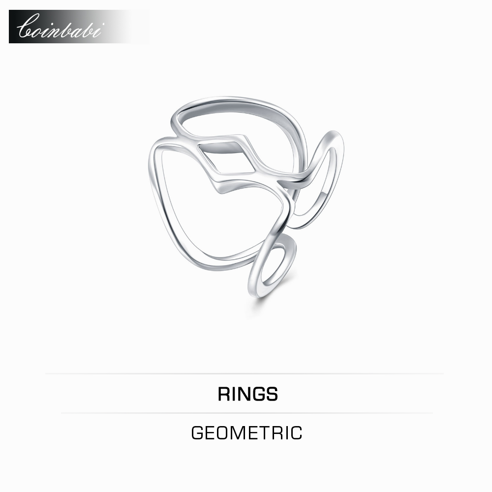 Ring Geometric,gold Plated 2017 New Ring Opening Fashion Jewelry  Wholesalers Wholesale Website Classic 2017 New Plated Gift