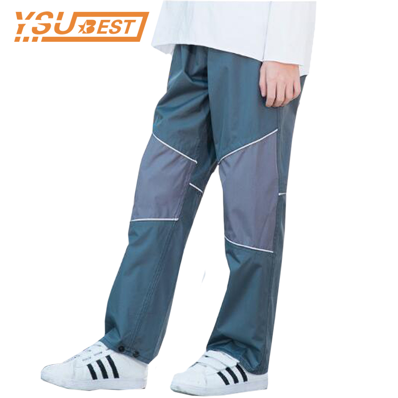 2-12Yrs Childrens Waterproof Pants Overalls Girls Pants Padded Trousers Outdoor Pants Quality Girls Boys Windproof Pants Rain
